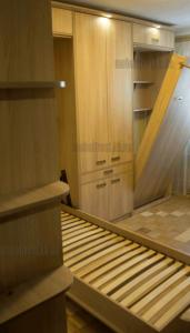 """кровати-трансформеры от """"Мебельтрест"""". Прячутся в шкаф. Подсветка мебели"""